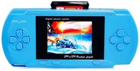 Toyvala PVP Station Light 3000 2 Cassettes Handheld Gaming Console, Light Blue