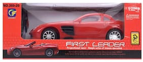 TOYVALA Remote Control First Leader Racing Car Open (red)