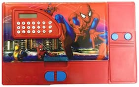 Toyvala Superhero Multifunctional Art Plastic Pencil Box