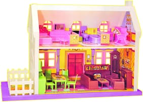 TOYZONE Doll Houses My Little Doll House (34 pcs)