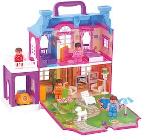 TOYZONE Dream Palace Doll House(40 pcs)