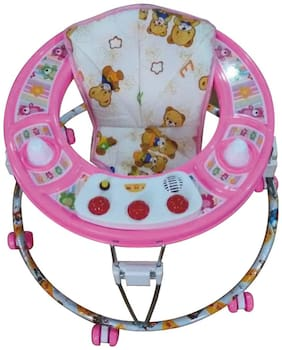 TOYZONE Early Development Toys Small Round Walker With Music