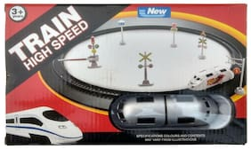 Train High Speed Metro Battery Operated Train Toy