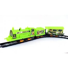 Battery Operated Train Set 11 Pcs (Assorted Colors)