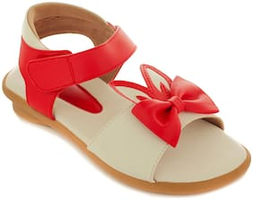 Trends & Trades Red Girls Slippers