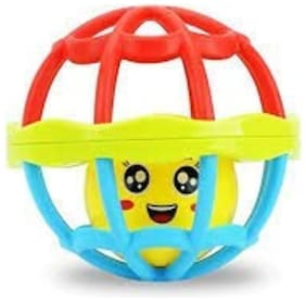 Trendy Dukaan Rattle Toy Ball for Babies, Infants and Toddlers - BPA Free - Non Toxic