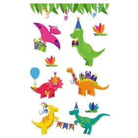 Trendy Waterproof Cartoon Dinosaur Tattoo Sticker(Multi-H) #SmileDay