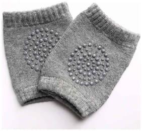 TRYOKART Blue Coton Baby Knee Pad 1 Pair