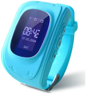TSV Children GPS Tracker Satellite Monitor SOS Phone Call Smart Watch Android Q50 for All Oppo Smartphone