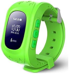 TSV Children GPS Tracker Satellite Monitor SOS Phone Call Smart Watch Android Q50 for All Motorola Smartphone