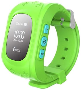 TSV Q50 Kids GPS Watch Anti-Lost Children Safety Tracker Band Smart Phone Watch for Android/iOS