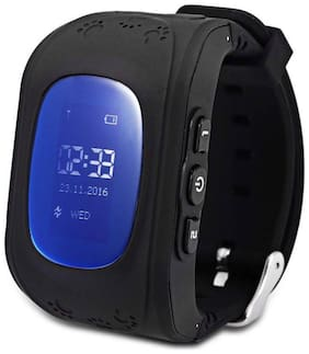 TSV Q50 Smart Watch for Kids with Anti-Lost Feature, GPS Tracker, SOS Call, Remote Monitor, Parent Control with Android and iOS Smartphones