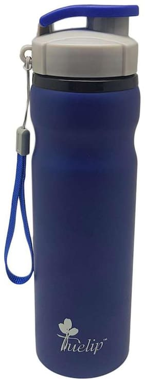Tuelip Stainless Steel Water Bottle For College,Gym,Sports Water Bottle 700 ML (Blue)