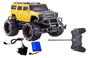 TULSI ENTERPRISE Mad Racing Remote Control Hummer Off Road car and Racing car for Kids (Multicolor)