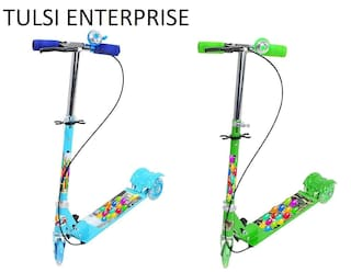 TULSI ENTERPRISE Scooters For Kids With LED Light Tyre-2 Combo Offer