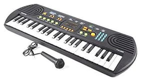 TULSI ENTERPRISE Canto 44 Key Keyboard Piano with Mic, and Charger, Recording - Great Toy Gift