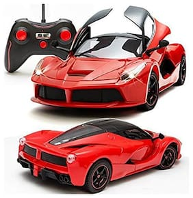 TULSI ENTERPRISE 1:16 Scale Famous Winner Racing Remote Control Car With OppnING Door (Multicolour)