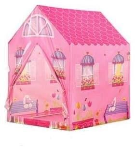 TULSI ENTERPRISE Prince Kids Play Tent Indoor Outdoor - for Boys Girls Baby Toddler Playhouse House Castle Foldable Tent (Doll House Tent House)