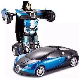 TULSI ENTERPRISE  Bugatti Style Transformer Toy Car, 1:24