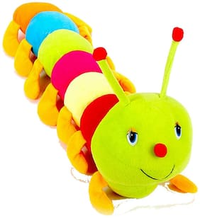 Turban Toys Colorful Caterpillar Soft Toy