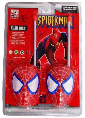 Turban Toys Spiderman Walkie Talkie