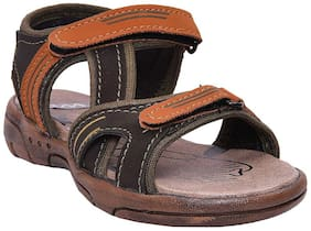 Twin Olive Boys Sandals