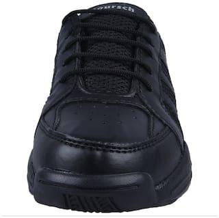 Twin Black Boys School Shoes
