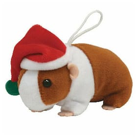 TY Holiday Baby Beanie - GOODIES the Guinea Pig (3 inch) -MWMTs Ornament Holiday