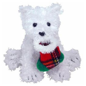 TY Jingle Beanie Baby - PRESENTS the Dog (4.5 inch) - MWMTs Ornament Holiday Toy