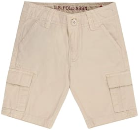 U.S. Polo Assn. Boy Solid Na - Beige