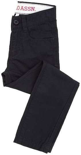 U.S. Polo Assn. Boy's Slim fit Jeans - Black