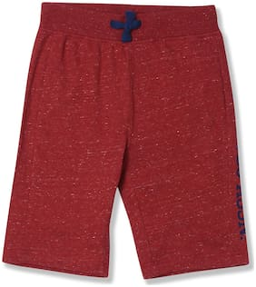 U.S. Polo Assn. Kids Boys Slim Fit Heathered Shorts
