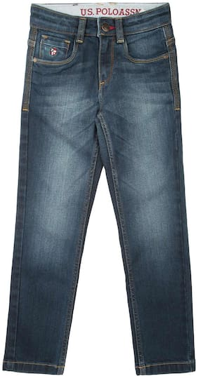 U.S. Polo Assn. Boy's Slim fit Jeans - Blue
