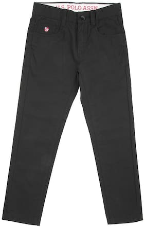 U.S. Polo Assn. Boy's Slim fit Jeans - Black