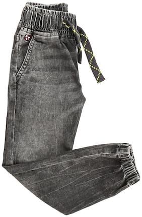U.S. Polo Assn. Boy Solid Trousers - Grey