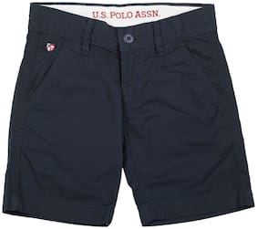 U.S. Polo Assn. Boy Solid Na - Blue