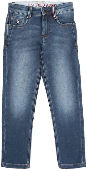 U.S. Polo Assn. Boy's Slim fit Jeans - Blue