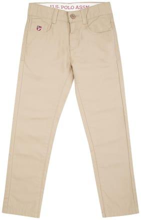 U.S. Polo Assn. Boy's Slim fit Jeans - Beige