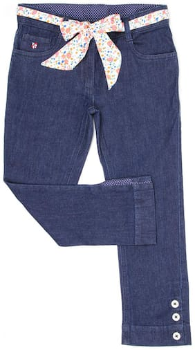 U.S. Polo Assn. Basic Slim fit Jeans for Girls - Blue