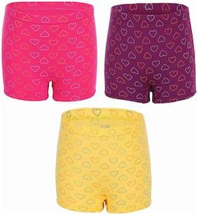 UCARE Panty & bloomer for Girls - Multi , Set of 3