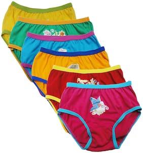 UCARE Panty & bloomer for Girls - Maroon , Set of 6