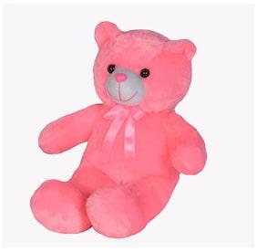 Ultra Soft Toys Baby Teddy Bear Pink 15 Inch