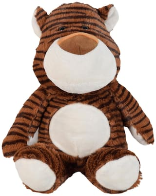 Ultra Baby Tiger Soft Toy 9 inch Brown