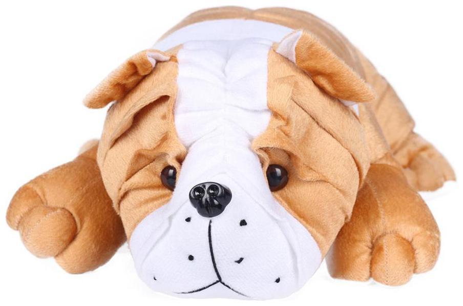 Ultra Soft Toys Animal Bull Dog Brown 18 inch