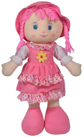 Ultra Cute Adorable Baby Doll Soft Toy Baby Pink 24 inch