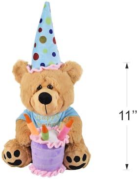 ULTRA Brown Teddy Bear - 28 cm