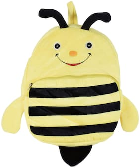 Ultra Cute Honey Bee School Bag 14 inch Yellow