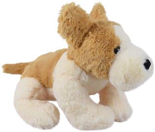 Ultra Cute Lying Dog Soft Toy 14 inch  Multicolour