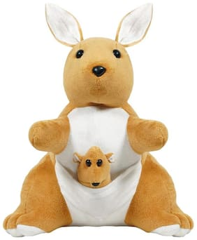 Ultra Kangaroo Soft Toy 12- Brown