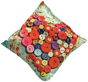 Ultra Soft Cushion Heart Print Multicolor